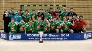 Füchse Berlin - Rookie Cup-Sieger 2014.