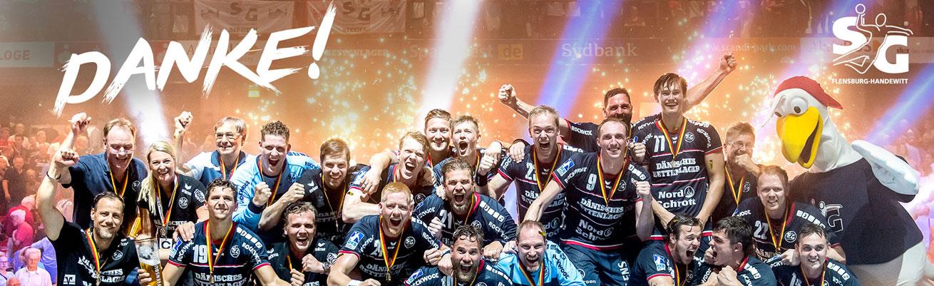SG Flensburg-Handewitt - Deutscher Meister 2018
