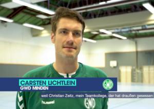 Carsten Lichtlein tritt für GWD Minden in der Clubchallenge an